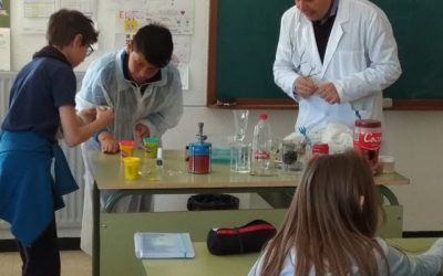 La Nanotecnología en el Colegio Tierno Galván de Manzanares (Ciudad Real)