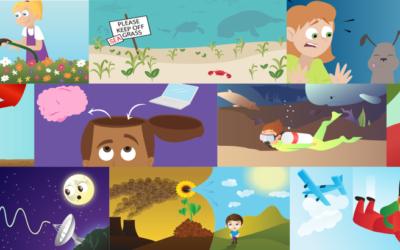 10 artículos científicos para niños en Frontiers