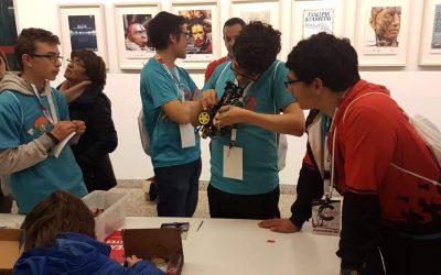 Taller de arduino y robótica con alumnos con TEA