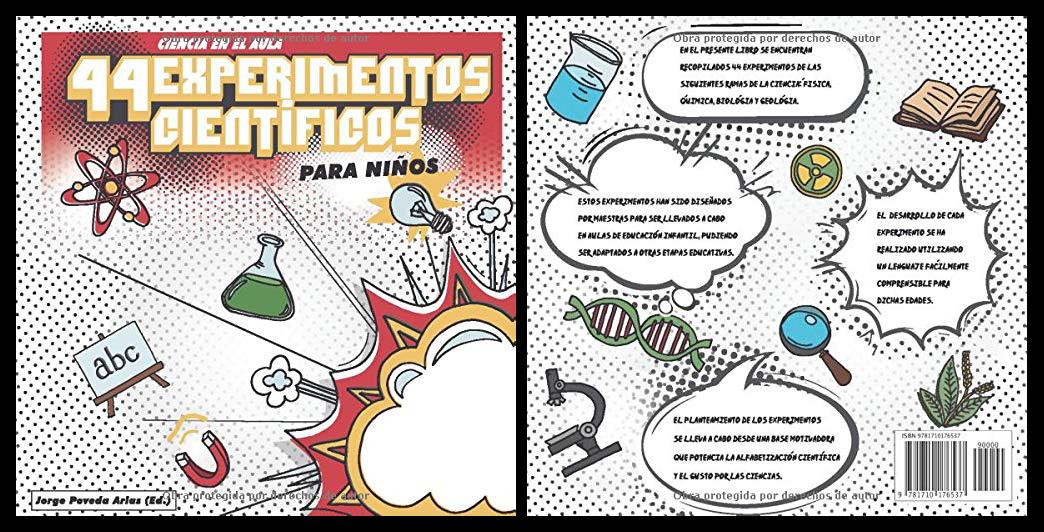 44 EXPERIMENTOS CIENTÍFICOS PARA NIÑOS: ciencia en el aula