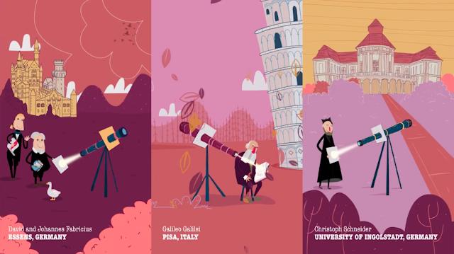 The QuEST – El Sol en dibujos animados
